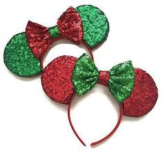d9e11ea15575 8 pairs of Christmas Minnie Mouse ears that you need for the holidays -  HelloGiggles Mickey