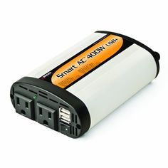 Wagan El2003-5 Smartac 400 Watt Continuous Power Inverter With 5V 2.1 Amp Usb Charging Ports, 2015 Amazon Top Rated Power Inverters #AutomotivePartsandAccessories
