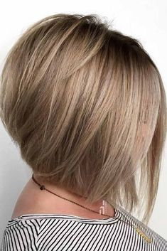 """It can not be repeated enough, bob is one of the most versatile looks ever. We wear with style the French """"bob"""", a classic that gives your appearance a little je-ne-sais-quoi. Here is """"bob"""" Despite its unpretentious… Continue Reading → Short Layered Bob Haircuts, Asymmetrical Bob Haircuts, Stacked Bob Hairstyles, Long Bob Haircuts, Long Layered Hair, Hairstyles Haircuts, Straight Bob Haircut, Medium Hair Styles, Short Hair Styles"""