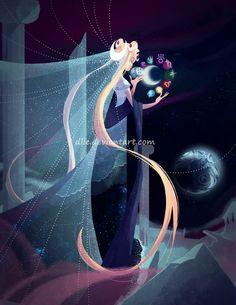Princess Serenity by Dlie.deviantart.com on @DeviantArt
