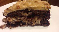 German Chocolate Cake & Icing