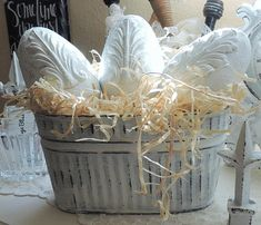 Decoupage Acanthus Leaves Easter Eggs French Nordic Spring