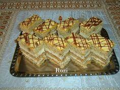Rozi Erdélyi konyhája: Karamelles-diós szelet