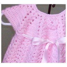 Infant Dress and Bootie Set от HandmadePreciousGift на Etsy, $50.00