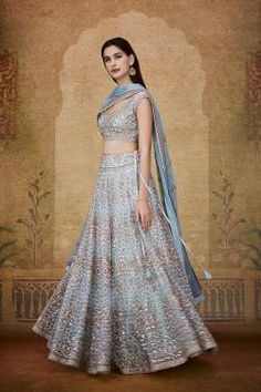 Shop from an exclusive range of luxurious wedding dresses & bridal wear by Anita Dongre. Bring home hand-embroidered wedding wear in colors inspired by nature. Luxury Wedding Dress, Wedding Wear, Indian Wedding Outfits, Indian Outfits, Indian Fashion, Womens Fashion, Lehenga Choli, Bridal Dresses, Formal Dresses