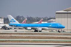 PH-BFT; KLM Boeing 747-400.