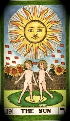 Tarot Sun card Spiritual Drawings, Sun Drawing, Cedar Forest, Towards The Sun, Epic Of Gilgamesh, Sun Tattoos, Major Arcana, Picture Cards, Oracle Cards