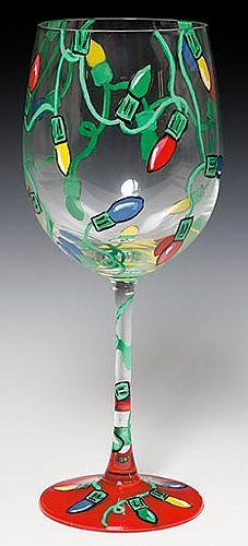 I painted wine glasses last year and it was a lot of fun....as long as you have patience!