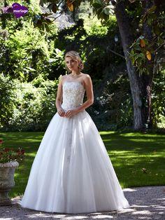 Robe de mariée Précieuse, robe de mariée féérique, robe de mariage bustier chez…
