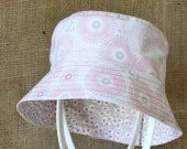 """""""Wheels & Blossoms"""" Children's Hat (Bucket style) A$20.00 (includes post to Australian addresses - international postage additional)"""