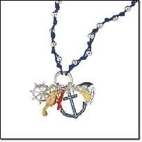 Nautical Inspired Necklace with Charm - AVON $7.99