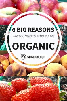 A visual inspection doesn't reveal many differences between conventional and organic produce, but there are HUGE differences — and they have a direct impact on your health and the planet. Here are 6 big reasons why you should buy organic whenever you can: 1. ORGANIC HAS MORE NUTRIENTS