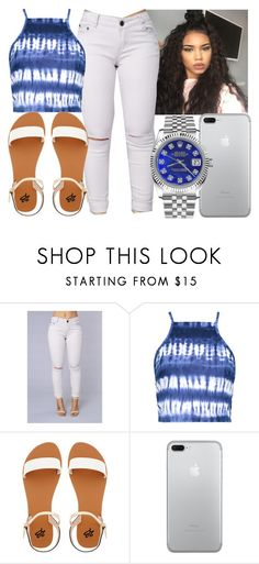"""""""Untitled #585"""" by foreverkaylah on Polyvore featuring O'Neill, Boohoo, 2b bebe and Rolex"""