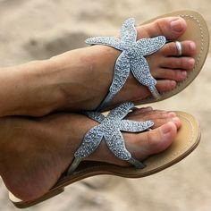 Summer Sandals or for a summer beach wedding.