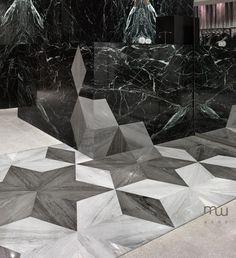 Flooring/desk detail