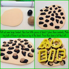 A while ago I offered to make some fondant decorations for a friend to put on her daughters' birthday cake. Torta Animal Print, Animal Print Cupcakes, Leopard Print Cupcakes, Fondant Cupcake Toppers, Fondant Cakes, Cupcake Cakes, Fondant Tips, Fondant Tutorial, Fondant Recipes