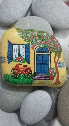 147 best Taş Boyamalarım (My Painted Rocks) images on Pinterest ...