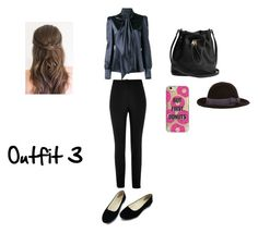 """Outfit 3"" by samanthastyle-cdxxi ❤ liked on Polyvore featuring Yves Saint Laurent, River Island, Agent 18, Lola, outfit and fashionset"