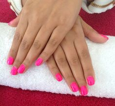 Neon pink to make the boys wink. As far as colour goes, it doesn't get much better than this