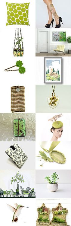 Spring trends! by Ilona Rudolph on Etsy--Pinned with TreasuryPin.com