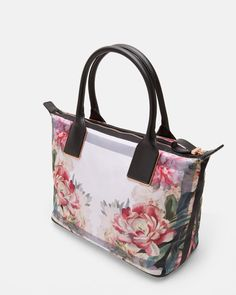 ce81cc82ce56 Painted Posie small tote bag - Baby Pink