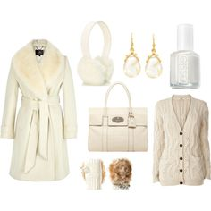 winter white style... let it snow!