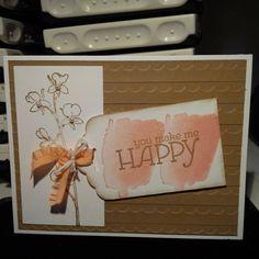 Happy Watercolor Stampin Up Card 2014 sneak peek