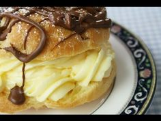 Giant Cream Puffs - so easy to make - the video shows you how!