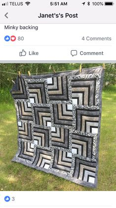 Rustic Cabin Quilt Patterns New 900 Best Quilts Log Cabin Variations Images On P. Quilt Baby, Colchas Quilt, Batik Quilts, Jellyroll Quilts, Patch Quilt, Scrappy Quilts, Easy Quilts, Patchwork Quilting, Quilt Blocks