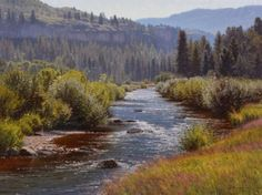 Jay Moore    End Of the Valley  30x40""