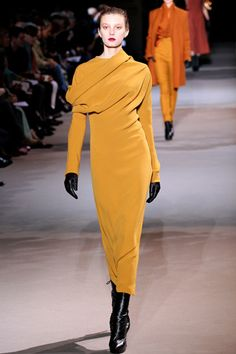 Haider Ackermann... This dress has me yearning for fall.