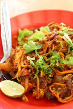 Penang Food Guide: Mamak Mee Goreng