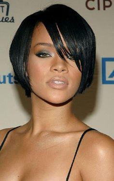 Kurze Schnitt Frisuren für Schwarze Frauen