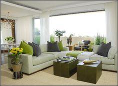 Contemporary Living Room Furniture Decor