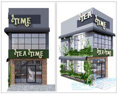 Dự án thiết kế quán cafe kết hợp trà Tea Time