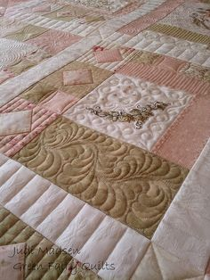Beautiful quilting by Judi Madsen