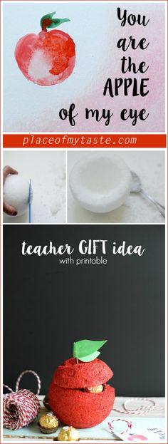 How cute!! Create a fun TEACHER gift idea in no time!! Love it!