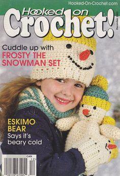 Christmas Crochet Patterns - Snowman Set
