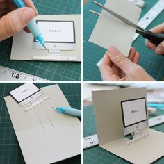 Remember how awesome pop-up books used to be? Let's be serious, they still are, and it got us to thinking... How can we incorporate pop-up paper items int