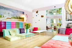 This large contemporary apartment, steps from the Luxembourg Gardens, sleeps up to 6 and has a large back garden to explore.