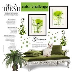 """Green Day"" by hastypudding ❤ liked on Polyvore featuring interior, interiors, interior design, home, home decor, interior decorating, Claudette, homedecor, greenday and decor"