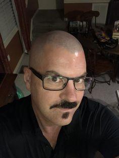 Bald Men Style, Bald Heads, Moustaches, Beards, Crane, Shaving, Hair Cuts, Mens Fashion, Guys