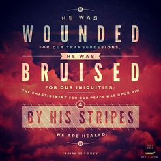 #isaiah #byhiswounds #thankyouforthecrosslord