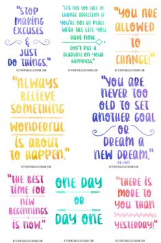 Check out this collection of pretty quotes about new beginnings to remind yourself of the possibilities of each day! New beginning quotes for a new outlook! New Beginning Quotes, Quotes About New Year, Last Day Of The Year Quotes, Bullet Journal Writing, Bullet Journal Ideas Pages, 365 Jar, January Quotes, Free Printable Quotes, Vie Motivation