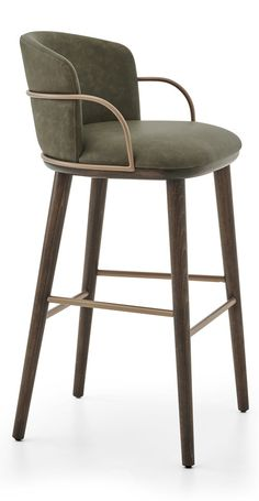 Arven Barstool by Parla — Jarrett Furniture - Supplying to individual hospitality projects in the UK and abroad - Crissie Alone Home Kitchen Stools, Counter Stools, Bar Stools Uk, Swivel Bar Stools, Extra Tall Bar Stools, Designer Bar Stools, Bar Cart Decor, Bar Design, Bar Seating