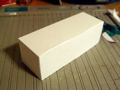 Today I am going to show you how you make a stationary box. You can put what ever you want in this box, cards, notepads, pencils and everyt...