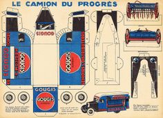For Ivan Smith who likes this sort of thing. (so do I) Camion Le Progres by pilllpat (agence eureka), via Flickr