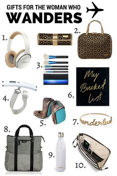 10 Travel gifts for her - Savvy Sassy Moms