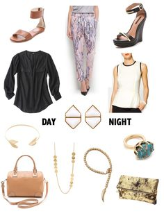 Sense & Sequins: Day to Night: Mango Printed Trousers