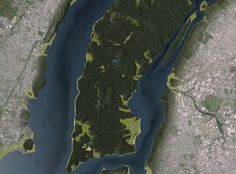 Curbed NY- Never been easier to visualize NY circa 1609